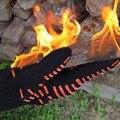 БАРБЕКЮ Перчатки Противостоять Пламени/Адского Огня Барбекю Перчатки/термостойкие силиконовые барбекю перчатки.
