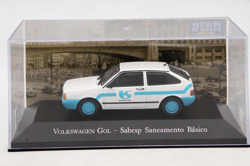 IXO Алтая 1:43 Масштаб V ~ W Gol Sabesp Saneamento Basico игрушки модели автомобилей литой Ограниченная серия Коллекции авто