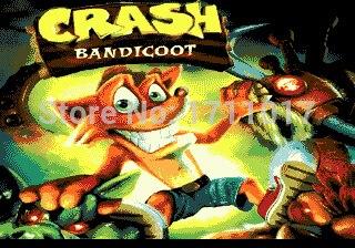 Crash Bandicoot 16 bit MD Game Card For Sega Mega Drive For Genesis