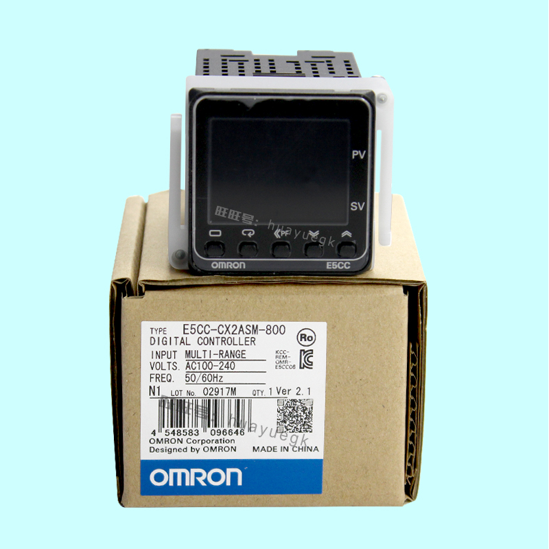 OMRON original authentic 100% new E5CC-CX2ASM-800 electronic temperature controller digital display temperature controller omron original authentic 100% new e5cc rx2asm 880 electronic temperature controller digital display temperature controller