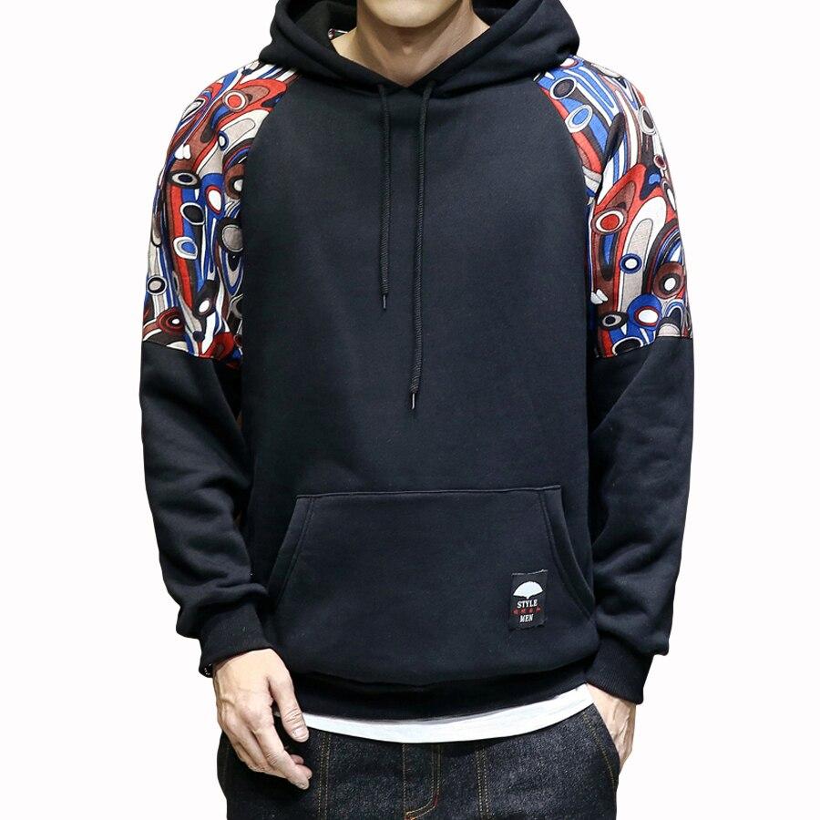Sweatshirt Men Fashion Hoodies Mens Casual Hip Hop Oversized Punk Hoodie  Print Vintage Harajuku Raglan Tactical Streetwear Korea|streetwear fashion|fashion  hoodie menhoodies men - AliExpress