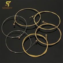 6 pcs/Set Acoustic Guitar String Musical Instruments Accessories Steel Strign For Guitar Bass Parts & Accessories