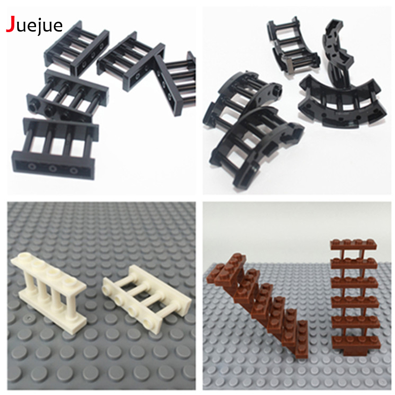 Stepladder Acmber Ladder City Street DIY MOC Bush Building Blocks Brick Sence Assemble Parts Compatible With Legoe Kid Toys Gift
