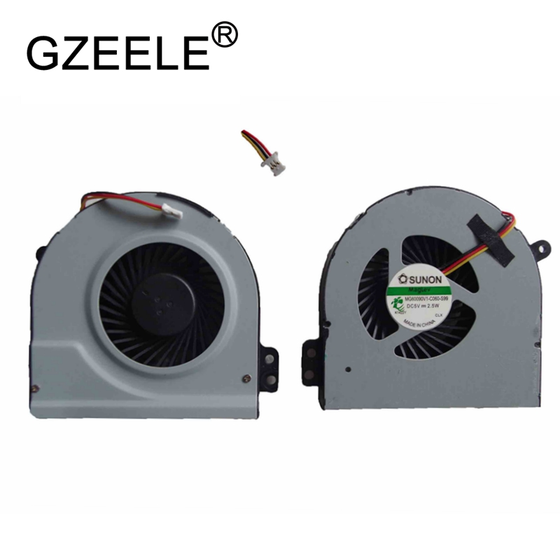 GZEELE new Laptop cpu cooling fan for Dell for Inspiron 13R N3010 Notebook Cooler Radiator Computer Replacement Cooler 0.4A 3pin