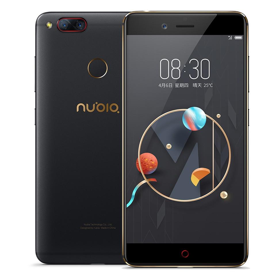 D'origine ZTE Nubia Z17 Mini Snapdragon 652 Octa Core smartphon 4 GB RAM 64 GB ROM 5.2 FHD 1920*1080 Double 13MP NFC OTA mobile téléphone