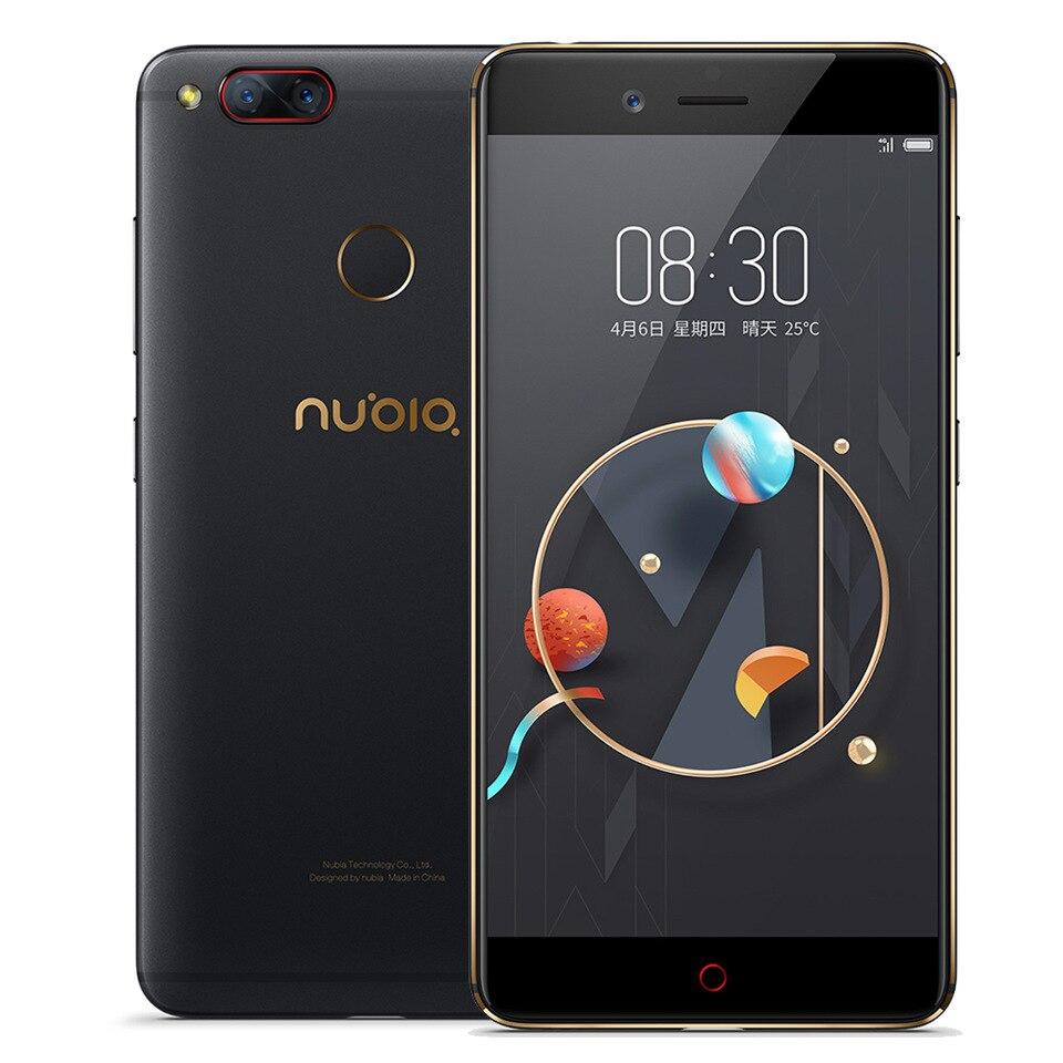 Original ZTE Nubia Z17 Mini Snapdragon 652 Octa Core smartphon 4GB RAM 64GB ROM 5.2″FHD 1920*1080 Dual 13MP NFC OTA mobile phone