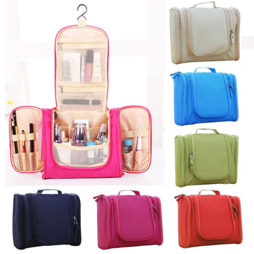 Hot Travel Cosmetic Makeup Bag Toiletry Case Storage Hanging Pouch Wash Organizer