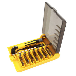 Image 2 - 45 in 1 Torx Precision Screwdriver Set For Cell Phone Laptop Repair Tool Kit small screwdriver set Multi Bit Tools