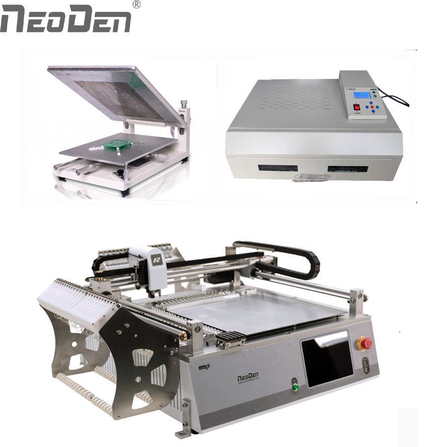 Power Tools Neoden3v Smt Led Production Line,benchtop Smd Processing,pick And Place,pcb Assembly Line,low Cost,can Work With Bga,qfn,0201 Pneumatic Tools