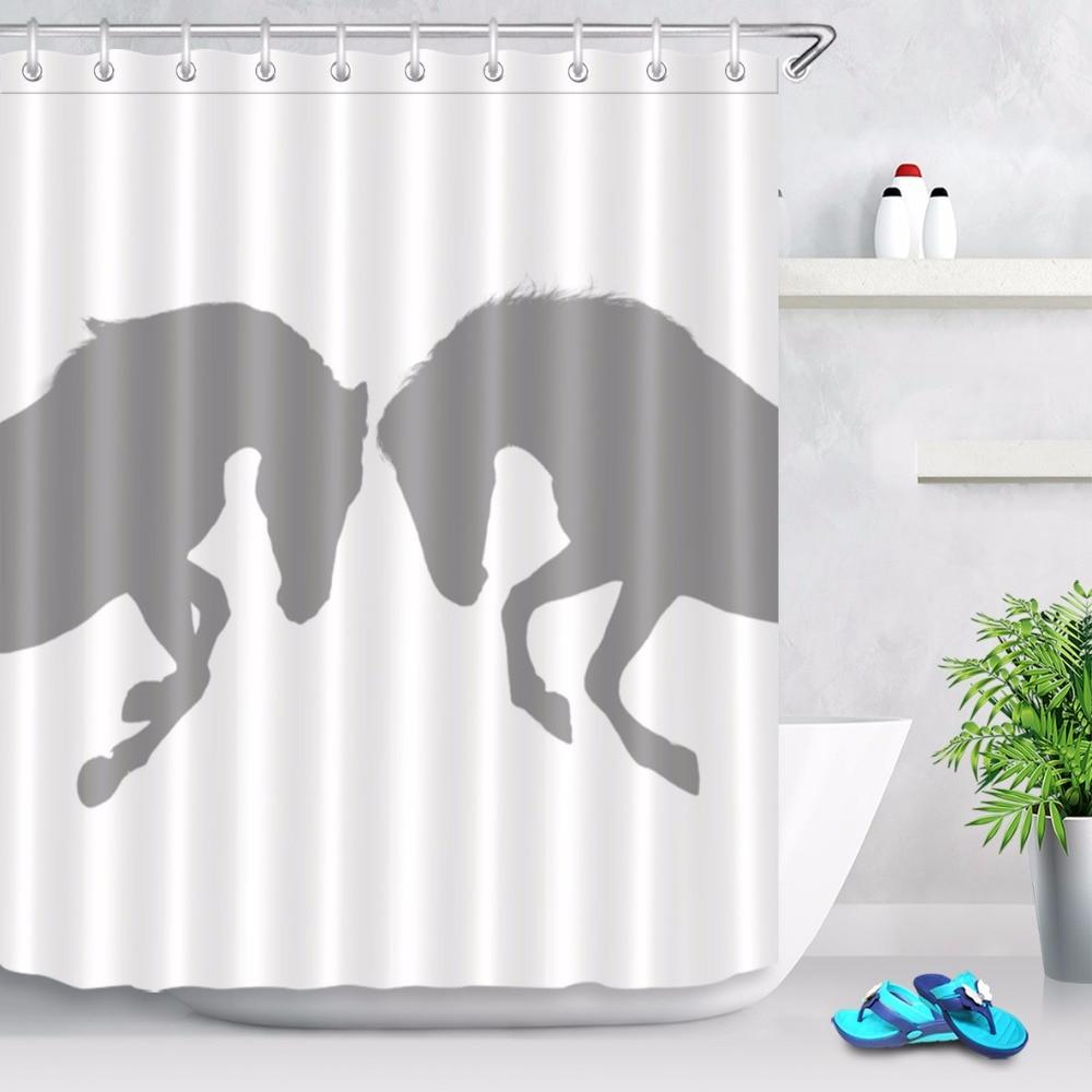 "Rainbow Zebra Bathroom Mat Waterproof Polyester Fabric Shower Curtain Hook 72/"" 0"