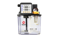 2L 2 Liters Lubricant Pump Automatic Lubricating Oil Pump Cnc Electromagnetic Lubrication Pump Lubricator HTS02 1pcs