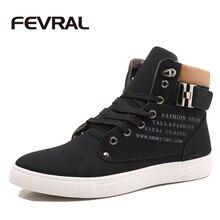 Fevral Популярный бренд качество Мужская обувь модные на шнуровке спереди повседневные ботильоны Осенняя водонепроницаемая одежда танкетке Теплая мужская кожаная обувь