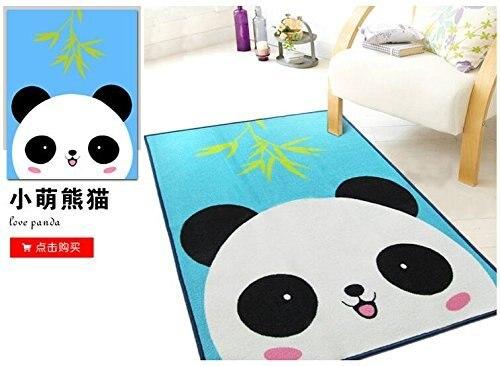 Lovely Panda Rug Children Carpet Kids Rugs 39x51 Inches Cartoon Animal  Carpet Baby Mat Baby Crawling Pad/ Game Mat 100cmx130cm In Carpet From Home  U0026 Garden ...
