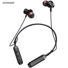 Brand Trådlös Hörlurar Bluetooth IPX4 Vattentät Halsband Örhängen Magnetiska Hörlurar Hörlurar Med Mikrofon För Telefon Sport