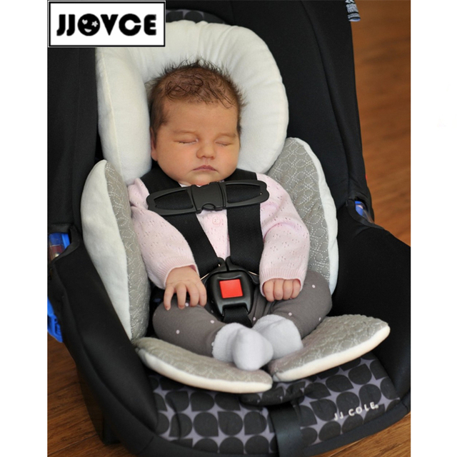Free Shipping Good Reversible Baby Body Support Compliance To Use In Car Seat Stroller Cushions