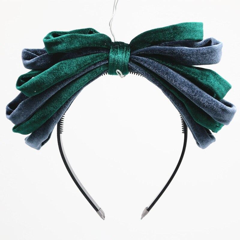 2020 New Fashion Rich Velvet Large Bow Hairband Children Fashion Hair Accessories Girls Headband