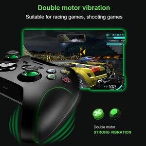 Image 2 - Dane żaba 2.4G bezprzewodowy kontroler do gier Joystick do kontroler do Xbox One dla PS3/smatfon z androidem Gamepad dla Win PC 7/8/10