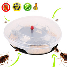 Reusable Cockroach Catcher Trap Box Anti Cockroaches Killer Repeller Insect Pest Bait Fly Trap Catcher Pest Control reusable cockroach catcher trap box anti cockroaches killer repeller insect pest bait fly trap catcher pest control