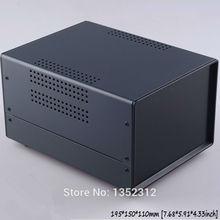 Один шт 195*150*110 мм гладить корпус для электронных приборов случае распределительная коробка электроника распределительная управления Корпус коробка