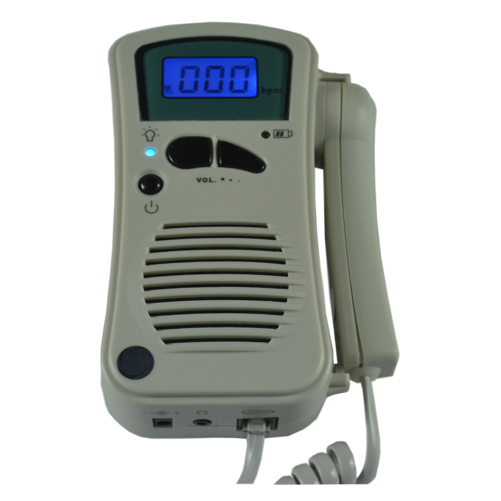 ФОТО FDA 2.5Mhz doppler fetal heart rate monitor fetal doppler BF-500++