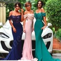 Long sexy Off the Shoulder bridesmaid dresses Mermaid bridesmaid dresses custom brvestidos de fiesta largos elegantes