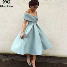 32aca8f33d Ball Gown 2019 Ready Ship Short Off Shoulder Graduation Homecoming Dresses  with Pleat Homecoming Cocktail Party