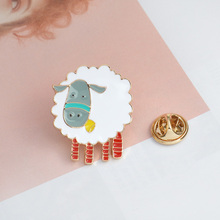Sheep Brooch Jewelry Gift for friend
