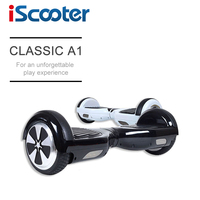 New Arrival Cool IScooter Electric Scooter 2 Wheel Self Balance Hoverboard With LED 7inch Smart Steering