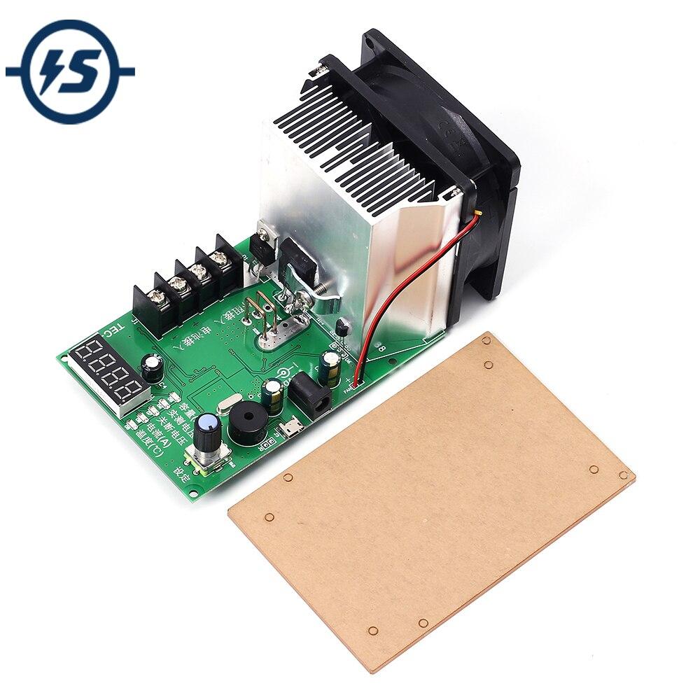200 W TEC-12P testeur de capacité de batterie charge électronique Max 500AH 20A affichage de LED avec testeur de batterie de véhicule ventilateur