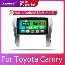 ZaiXi 2din Car multimedia Android Autoradio Radio GPS player For Toyota Camry Aurion 2011~2017 Bluetooth WiFi Mirror link