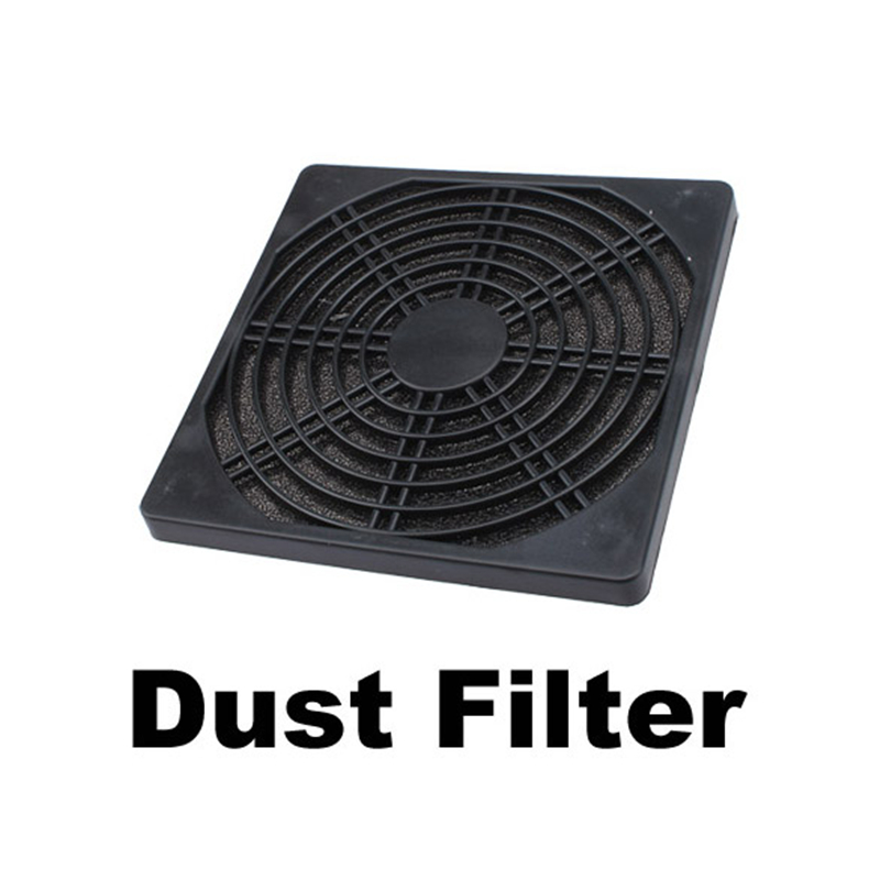 Cooling Fan Dust Filter Dust-proof Screen Filterable Mesh Guard Case Fan Filter For 120mm Computer PC Cooler
