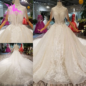 Image 2 - AIJINGYU חתונה שמלות מעצבי שמלת מין למעלה אמא של כלות שמלות תוצרת סין בציר קצר שמלת כלה
