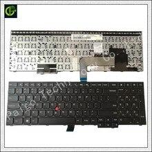 """מקורי חדש אנגלית מקלדת עבור IBM Lenovo Thinkpad E550 E550C E555 E560 E560P E565 00HN000 00HN074 00HN037 מחשב נייד בארה""""ב"""