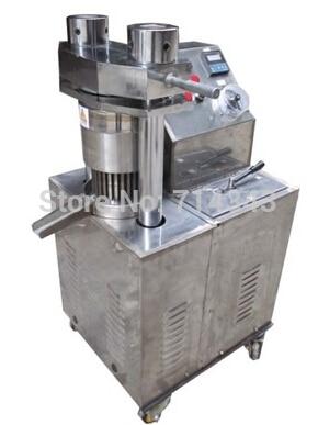 Machine de presse à froid électrique et entièrement automatique, petite extrudeuse d'huile, presseurs d'huile froide de sésame