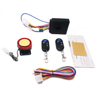 12V 1 5S Motorcycle Alarm System Anti Theft Security Alarm System Remote Control Engine Start Alarme