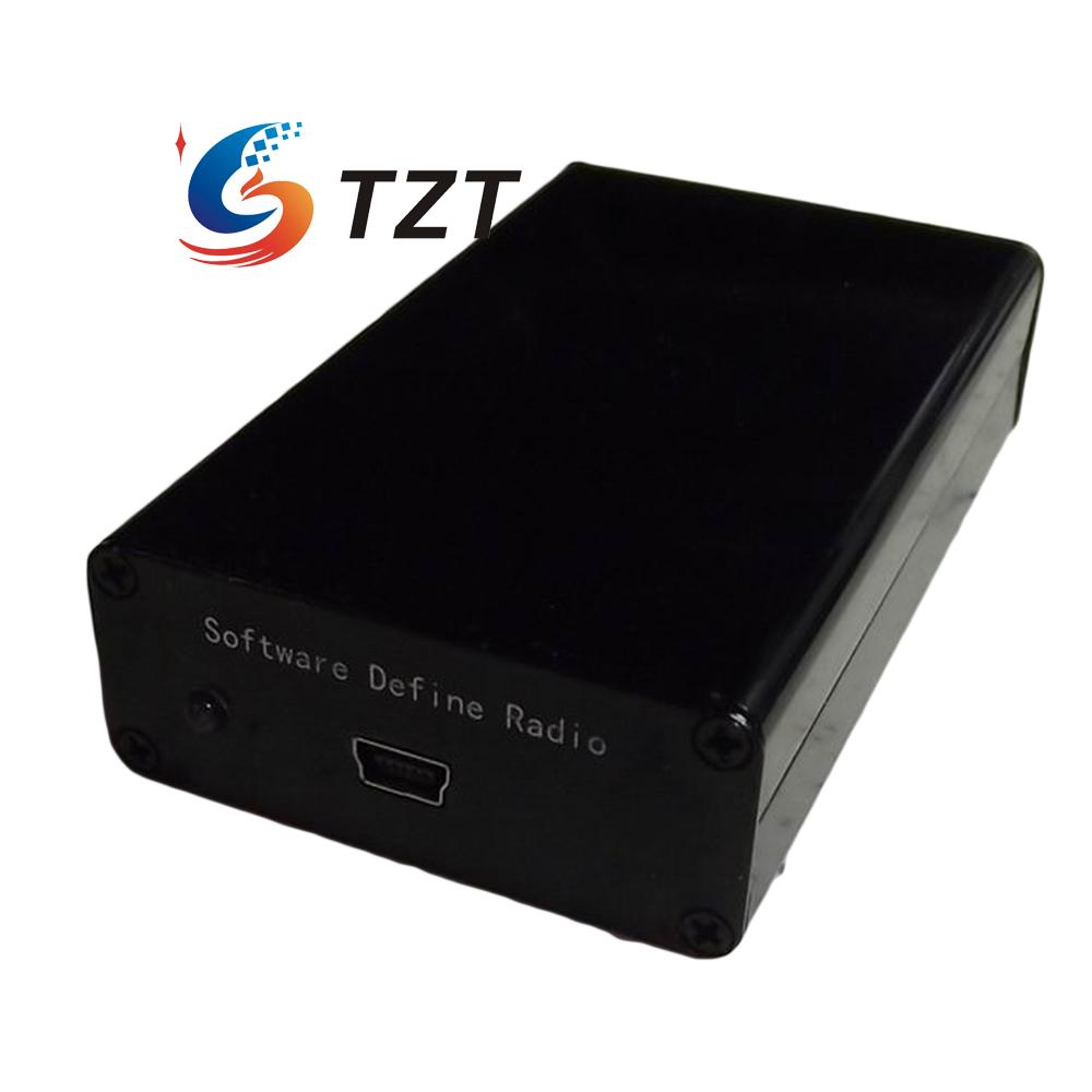 100KHZ-1.7GHz Software Defined Radio RTL-SDR Receiver Full Band RTL2832+R820T ham radio receiver software defined radio 100khz 1 7ghz full band uv hf rtl sdr usb tuner rtl2832u r820t2