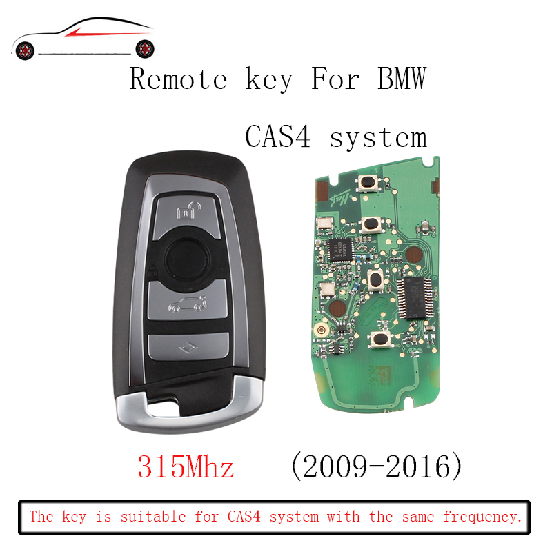 GORBIN 315Mhz Smart Remote Key Keyless Fob For Bmw Cas4 2012-2016 3 Series 2010-2016 5 Series 2009-2016 7 Series Original key
