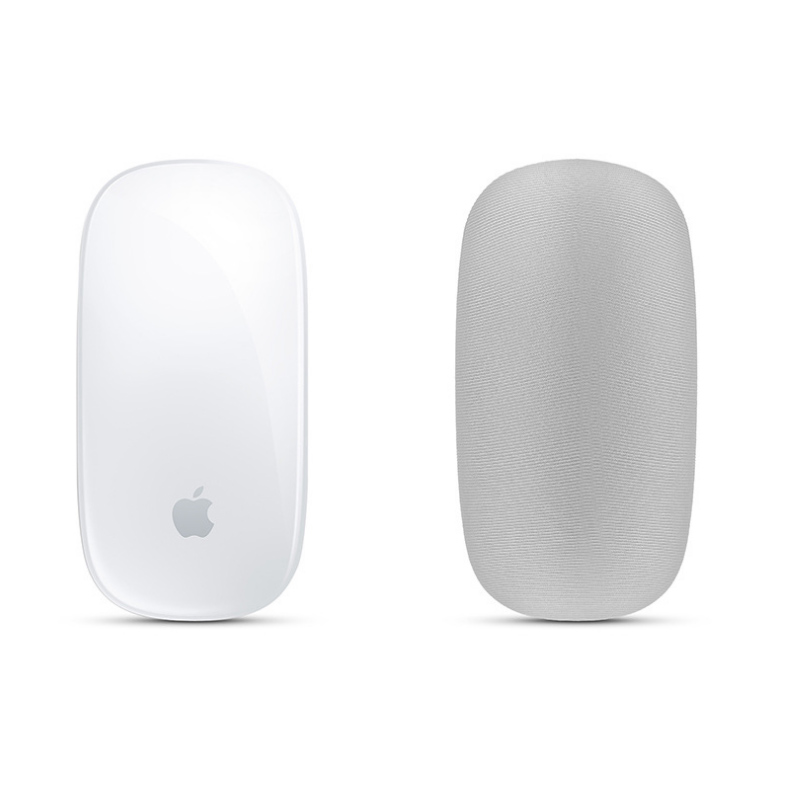 1pcs Soft Skin Dust Scratch Proof Cover Elastic Fabric For MAC Apple Magic Mouse Storage Protect Case Mouse Dust Cover FC128