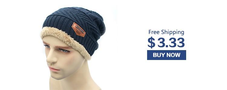 600dc81b4dc 2pc set Men Warm Hats Collars Beanie Hat 2016 Winter Knitting Wool Hat  Knitted Caps Outdoor Sport Warm