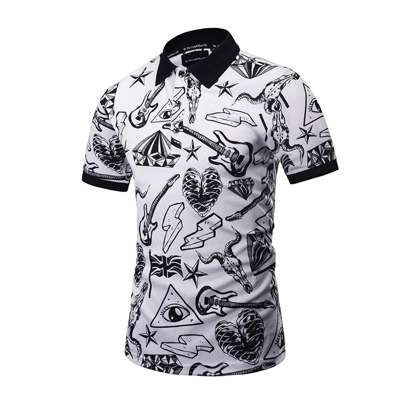 2019 Mr.1991INC&Miss.GO New Designed POLO Shirts Funny Men Summer Tops 3d Shirts Print Skulls Graphic 3d Polo Shirts