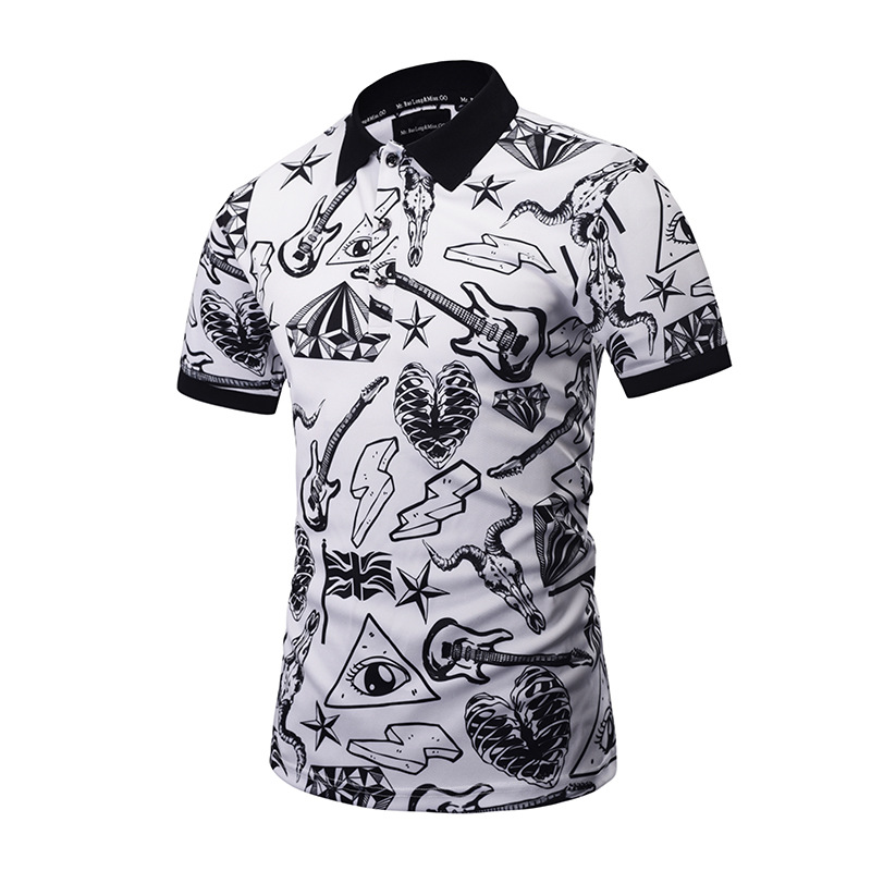 2019 Mr.1991INC&Miss.GO New Designed   POLO   Shirts Funny Men Summer Tops 3d Shirts Print Skulls Graphic 3d   Polo   Shirts