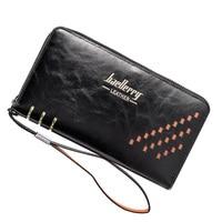 2016 Men S Baellery Business Clutches Wallet Long Wallets Male Leather Purse Famous Luxury Brand Men