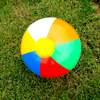 23 30 36cm Inflatable Beach Ball PVC Water Balloons Rainbow-Color Balls Summer Outdoor Beach Swimming Toys New Arrival flash sale