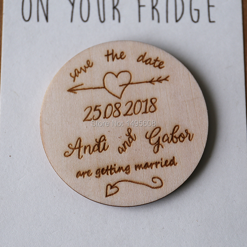 Save the Date magnets, wedding save the dates, rustic save the dates