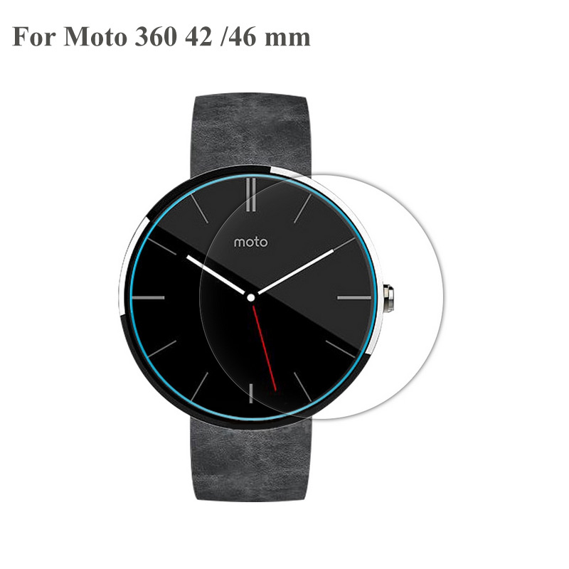 10PCS For Motorola Moto 360 1G 2G 1 2 G 2nd Generation 42mm 46mm Sport Watch FilmTempered Glass Screen Protector Film