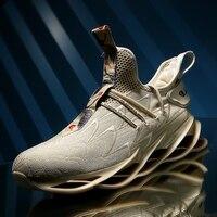 SENTA/Новая мужская обувь для бега в Корейском стиле; стильная весенняя обувь; нескользящая легкая амортизационная дышащая Спортивная обувь; ...