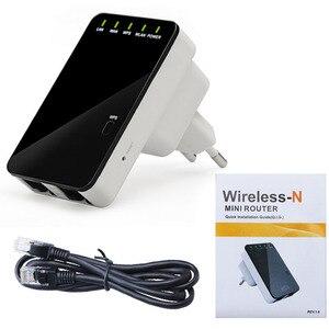 Image 3 - 300 mbps 무선 n 미니 라우터 wifi 신호 확장기 wps는 ap 라우터 클라이언트 브리지 및 리피터 모드를 지원합니다.