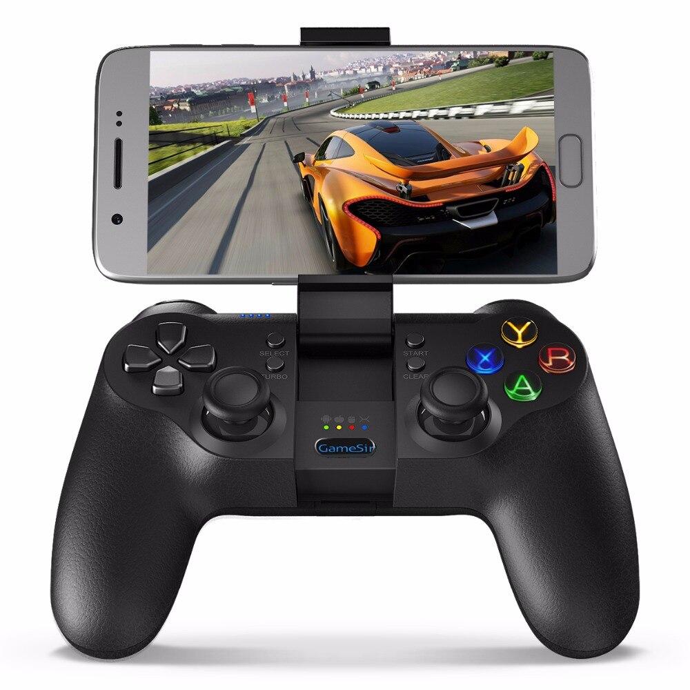 GameSir T1s, bluetooth Sans Fil Contrôleur de Jeu Gamepad pour Android/Windows PC/VR/TV Box/PS3, compatible avec DJI Tello