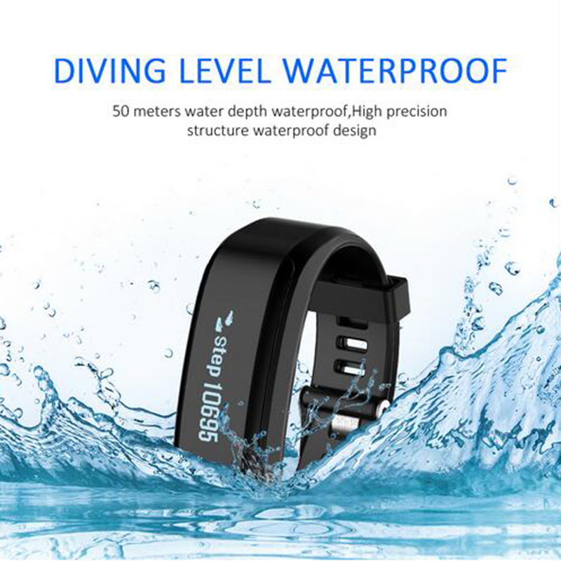 где купить IP68 Waterproof SKFXR01 Smart Band Smarband Support Heart Rate Monitor Sleep Tracker Call Reminder Pedometer Wristband Bracelet дешево
