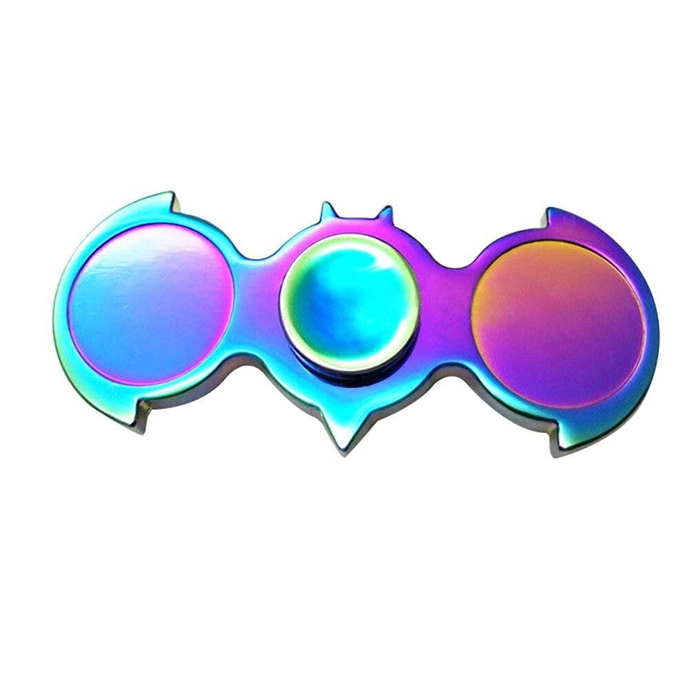 Радуга bat птиц форма металлический ручной Spinner Непоседа игрушки EDC Малыш взрослых подарок на день рождения